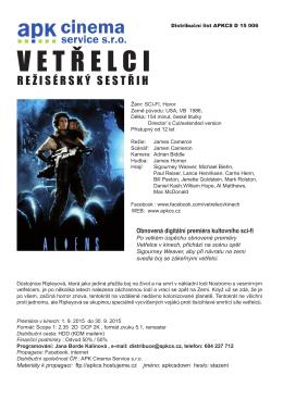 vetřelci_dl - APK Cinema Service, sro