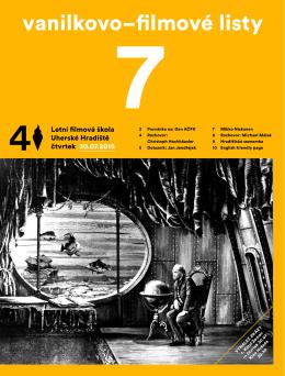 čtvrtek 30. 7. 2015 - Letní filmová škola Uherské Hradiště
