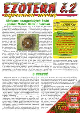 Noviny Ezotera 2/2015 - Festival Miluj svůj život