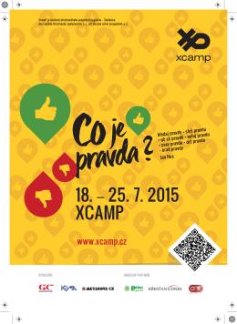 18. - 25. 7. 2015 XCAMP