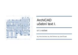 Ukázka učebnice ArchiCAD - Střední odborná škola a Střední