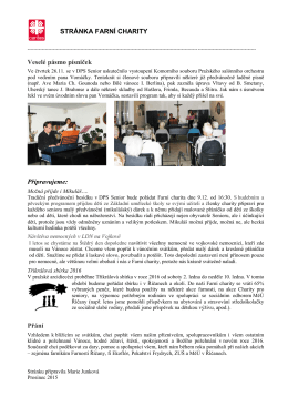 Stranka Farní charity tisková verze PDF