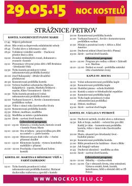 STRÁŽNICE/PETROV - Římskokatolická farnost Strážnice
