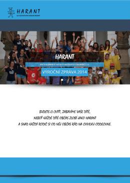 Výroční zpráva 2014 - Letní dětský tábor Trnávka
