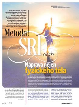 Gabriela a povídání o SRT v časopise ELIXÍR 07/08 2015