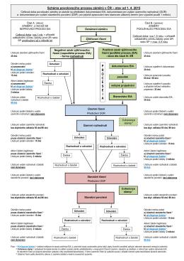 Schéma procesu EIA