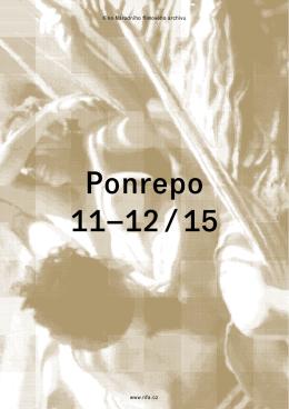 Ponrepo brožura listopad a prosinec 2015