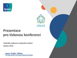 český skaut - výsledky výzkumu veřejného mínění