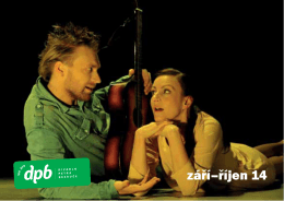září–říjen 14 - Divadlo Petra Bezruče