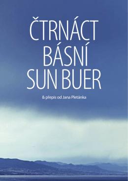 Kniha 14 básní SUN BU-ER