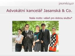 zde - Jasanská & Co.