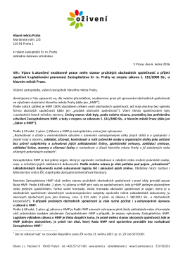 dopisem - Bezkorupce