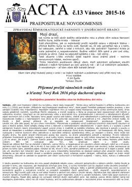 ACTA-2015-13 - proboštství