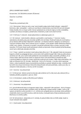 Zápis – Rada rodičů 15.9.2014