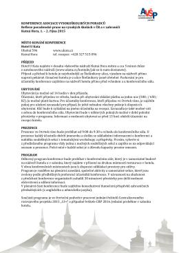 ZDE - Asociace vysokoškolských poradců
