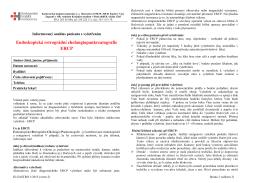 ERCP verze 2