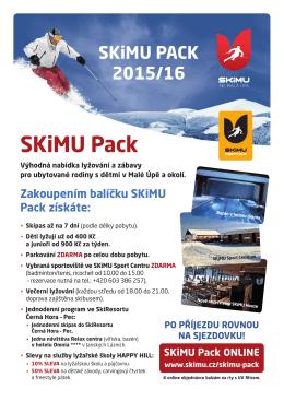 SKiMU Pack