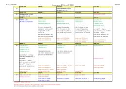 Harmonogram závěrečných zkoušek 2014/2015