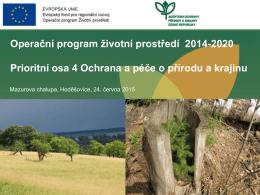 prioritní osa 4 - SVOL - Sdružení vlastníků obecních a soukromých