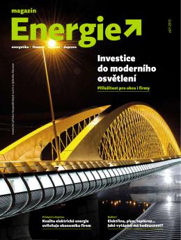 Hospodářské noviny, příloha Energie / září 2015