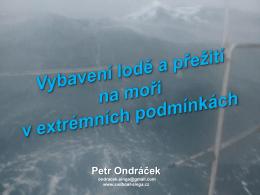 Přežití na moři v extrémních podmínkách