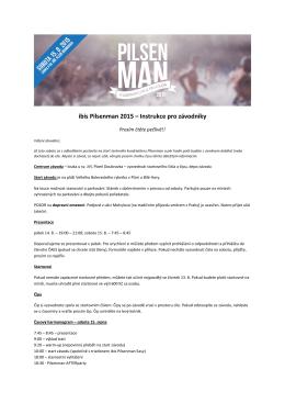 ibis Pilsenman 2015 – Instrukce pro závodníky