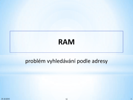 RAM - vjj root page