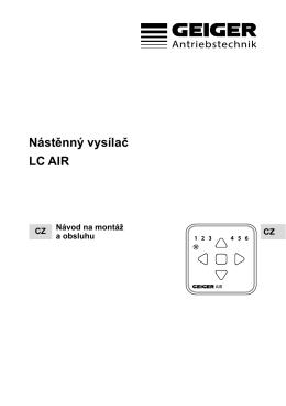 Nástěnný vysílač LC AIR