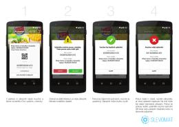 V aplikaci si zákazník najde voucher a klikne na tlačítko Chci uplatnit