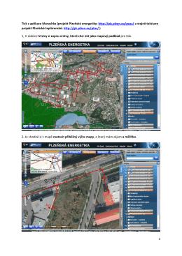 Obrázkový návod na tisk mapy z projektu Marushka