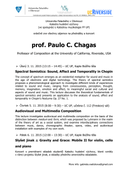 prof. P of. Paulo C. Chagas gas