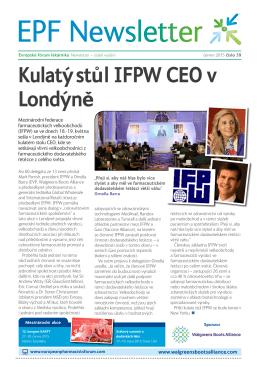 Kulaty´ stu˚ l IFPW CEO v Londy´neˇ