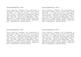 Koncovky podstatných jmen – doplň i/y: Na stol__ položíme váz__ s