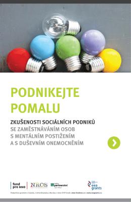 Prirucka P3 pro socialni podniky_Podnikejte pomalu