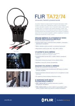FLIR TA72/74 - FLIRmedia.com
