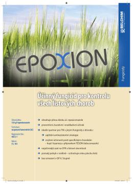 Účinný fungicid pro kontrolu všech listových chorob