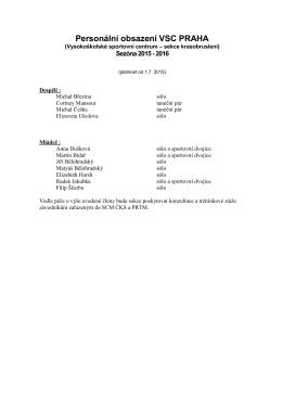Seznam všech členů sekce