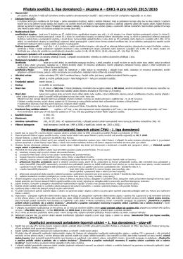 Předpis soutěže 1. liga dorostenců – skupina A – 8XK1