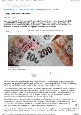 Půjčka ihned - Investování hrou