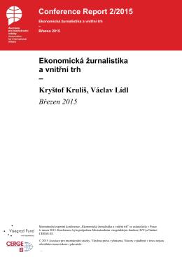 Ekonomická žurnalistika a vnitřní trh