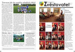 Traverza jde do soutěže mladších žáků!