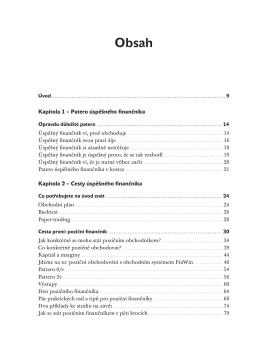Patero úspěšného finančníka Kapitola 2 – Cesty
