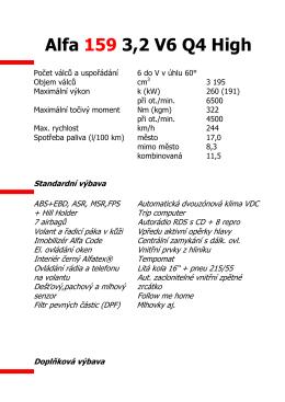 AR 159 3,2 V6 Q4 High - Nemeth
