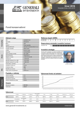 Konzervativní fond ČP INVEST