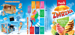 katalog TATRA produktů