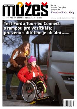 Test Fordu Tourneo Connect s rampou pro vozíčkáře: pro ženu s