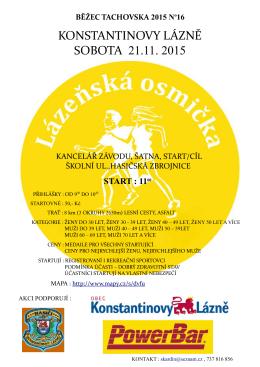 KONSTANTINOVY LÁZNĚ SOBOTA 21.11. 2015