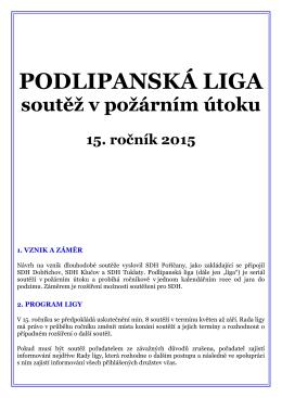 """Podlipanská liga (dále jen """"PL"""")"""