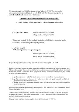Novelou zákona č. 256/2014 Sb., kterou se mění zákon č. 48/1997