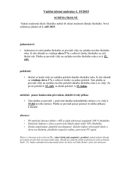 Schéma směrnice
